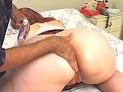 Chubby redhead babe sucks