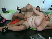 He ordered up a fat prostitute and now the BBW gives it up and lets him have her