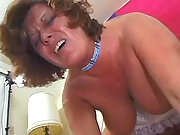 Busty mature drilled in doggy style
