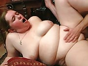 The great BBW hardcore scene features fat chicks screwing with lots of guys in an orgy