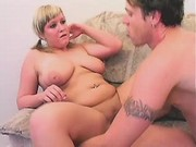 Busty chubby girl satisfy boyfriend