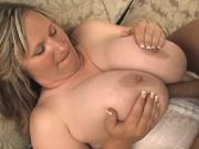 Chubby mature titsfucks and drilled