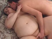 Fat girl spoils guy and fingeried