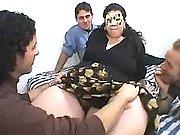 Elephant woman in orgy