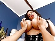 Cock Massaging By Lady Spyce