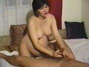 Nice pregnant milf spoils horny man